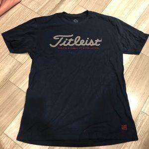 TitleistT-shirt with Scottie Cameron Logo